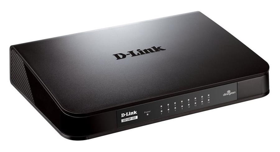 سوییچ D-Link DGS-1016A-16 Port Gigabit Rackmount Switch