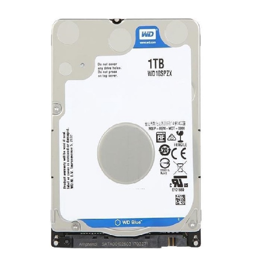 هارد Western Digital WD10SPZX Blue 1TB 128MB Cache NoteBook