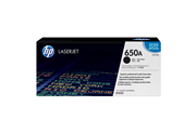 HP 650A Black LaserJet Toner Cartridge