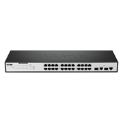 سوییچ D-Link DES-1026G 24-Port Fast Ethernet Unmanaged Switch with 2 Gigabit Ports