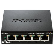 سوییچ D-Link DGS-105‎ 5-Port Gigabit Desktop Switch