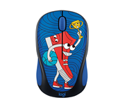 ماوس بی سیم Logitech Doodle Collection M238 Sneakerhead